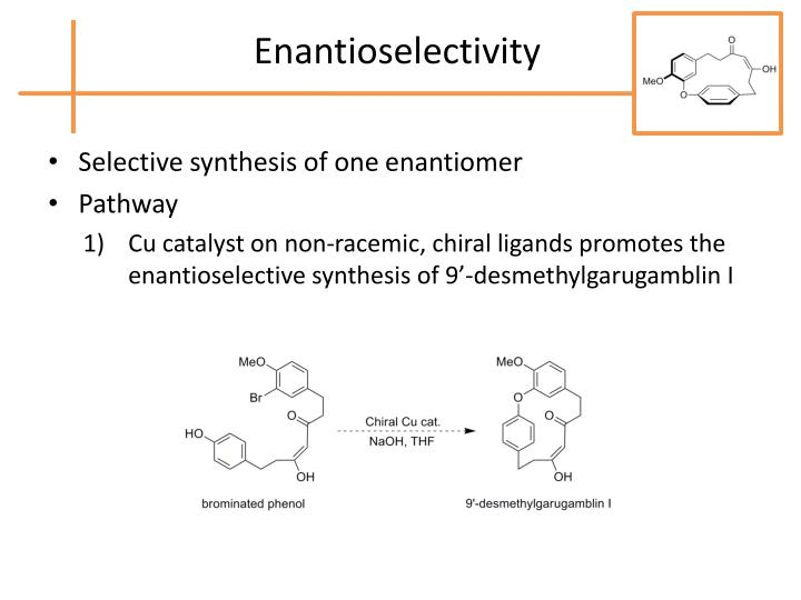 Enantioselectivity