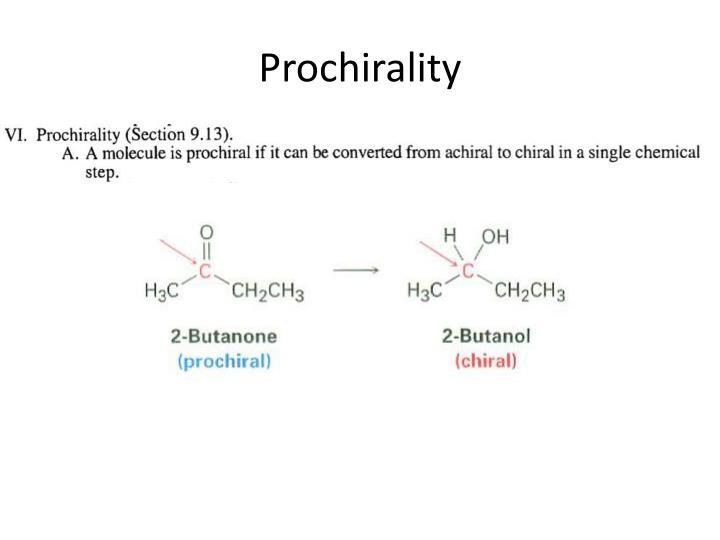 Prochirality