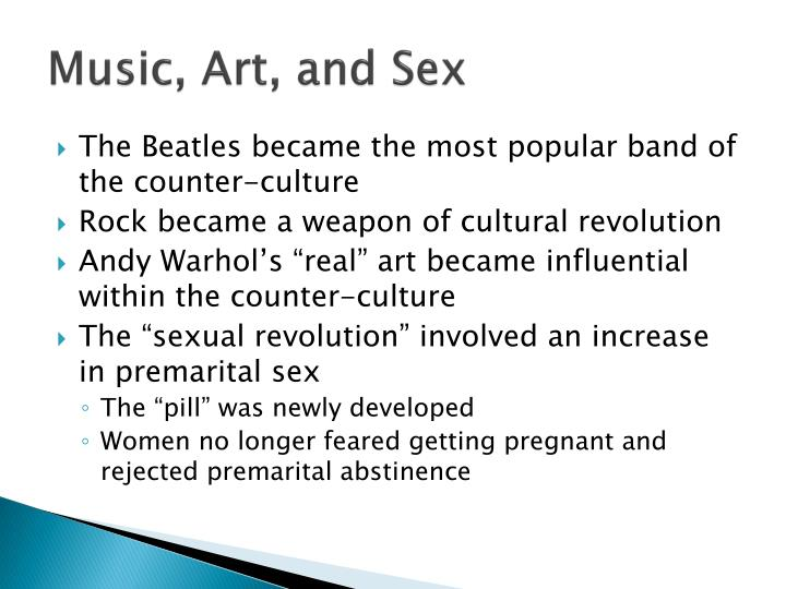 Music, Art, and Sex