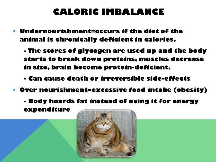 Caloric Imbalance