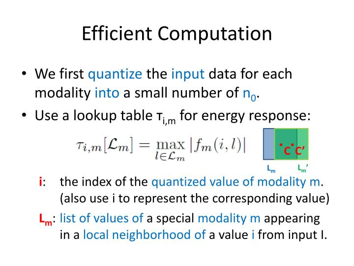 Efficient Computation