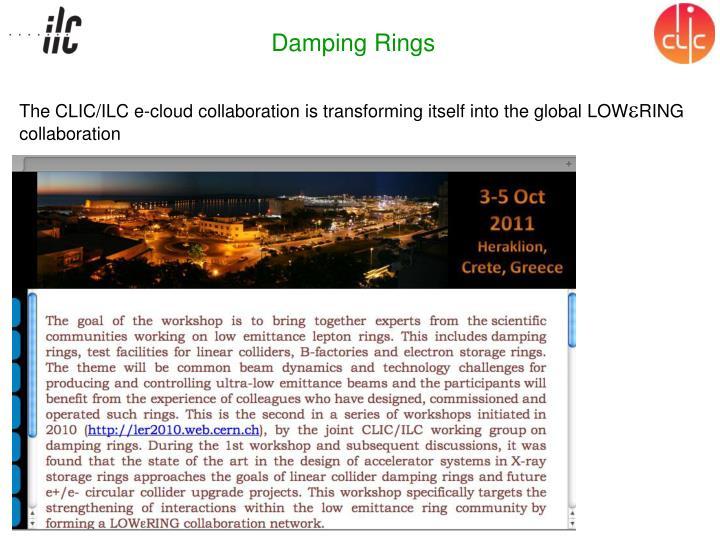Damping Rings