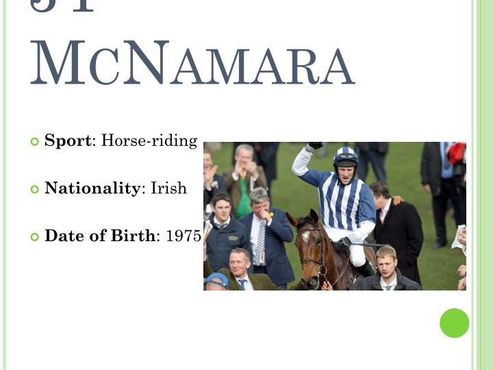 JT McNamara
