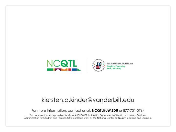 kiersten.a.kinder@vanderbilt.edu