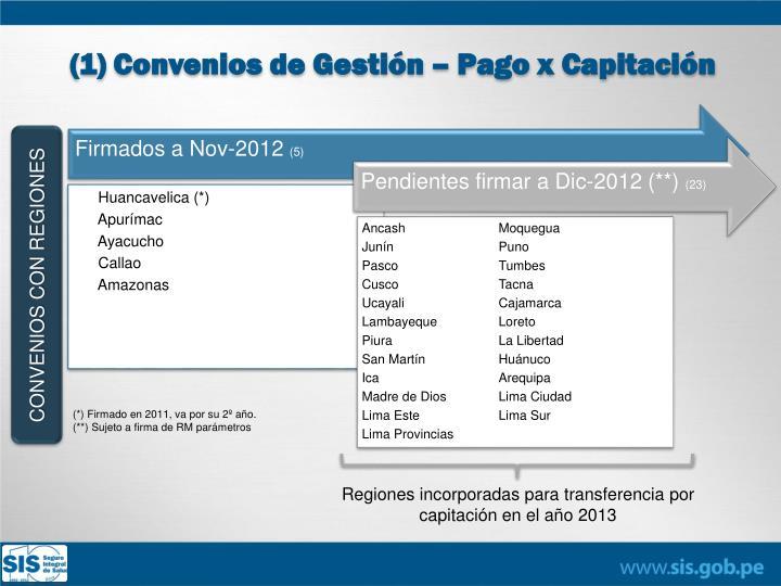CONVENIOS CON REGIONES