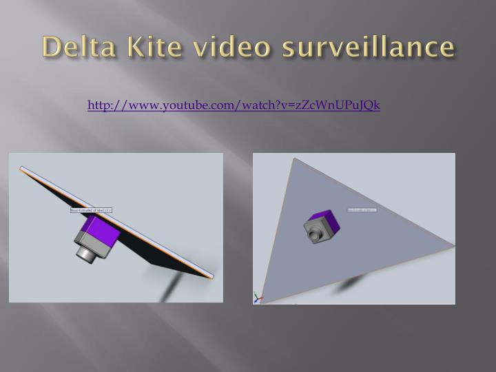 Delta Kite video surveillance