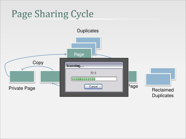 Page Sharing Cycle