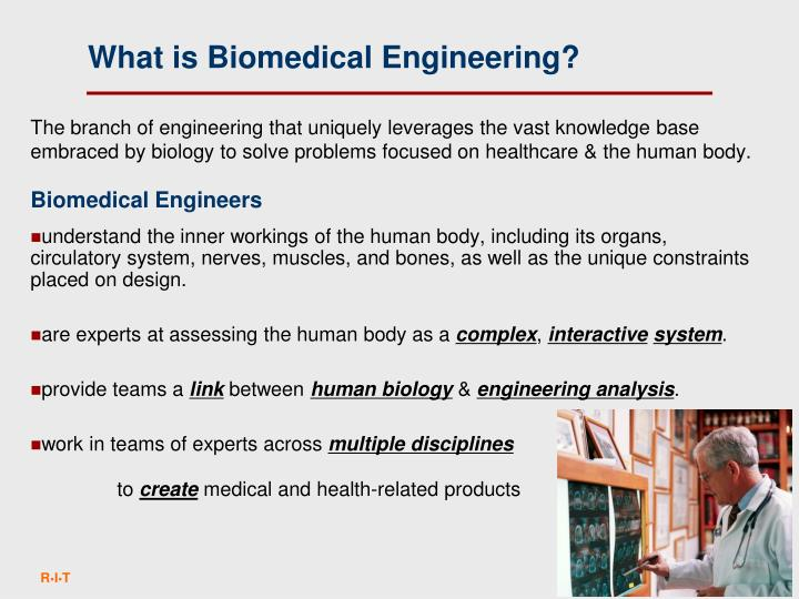 What is Biomedical Engineering?