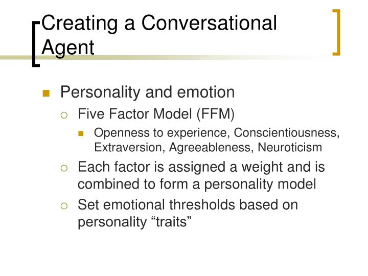Creating a Conversational Agent