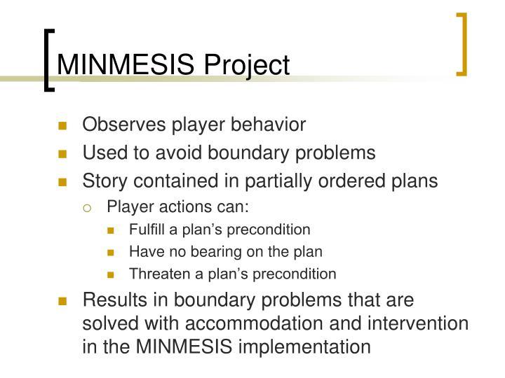 MINMESIS Project