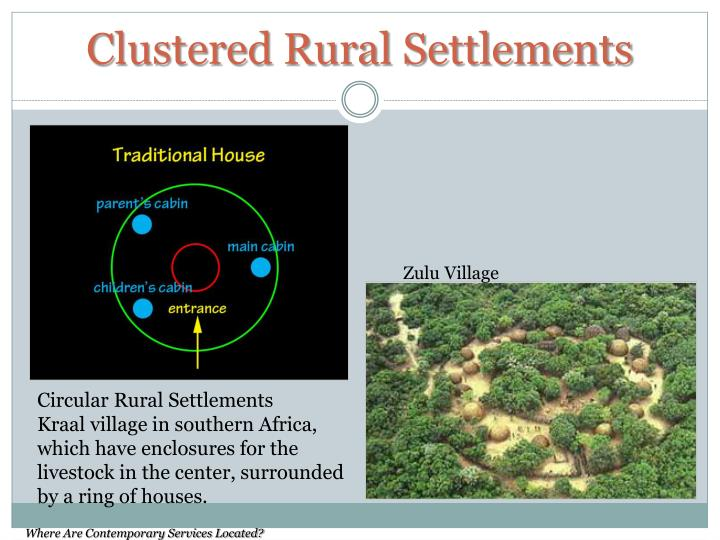 Clustered Rural Settlements