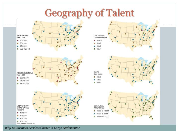 Geography of Talent