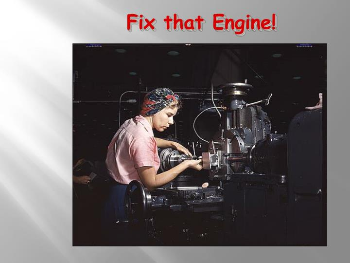 Fix that Engine!