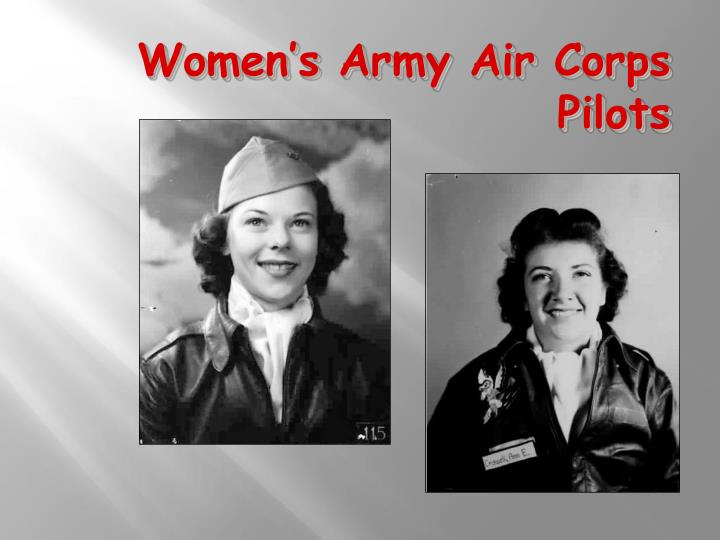 Women's Army Air Corps