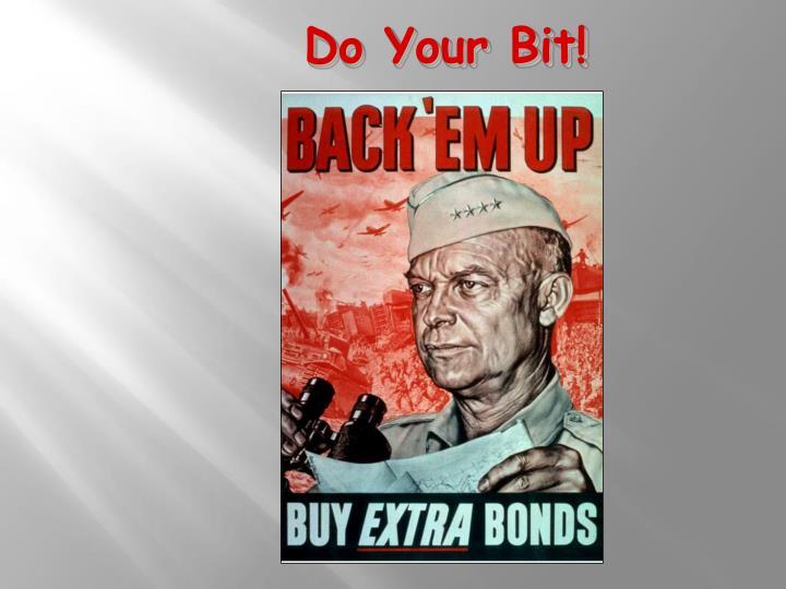 Do Your Bit!