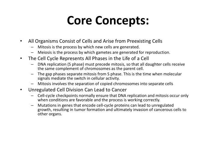 Core Concepts: