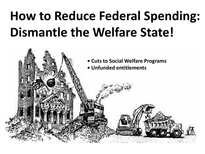 How to Reduce Federal Spending: