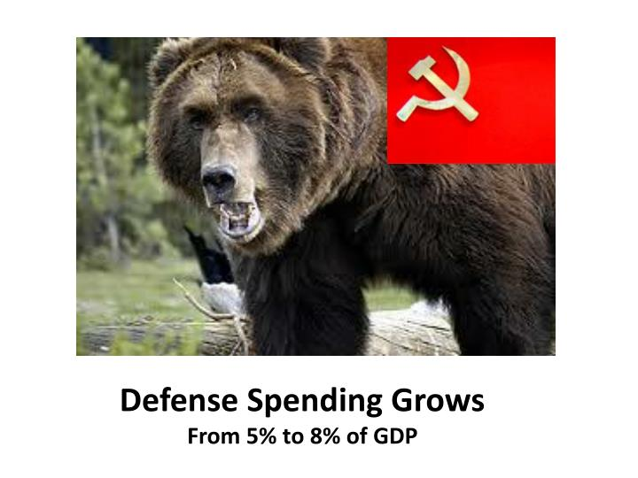 Defense Spending Grows