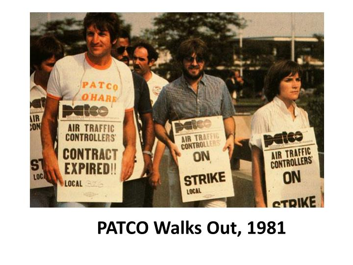 PATCO Walks Out, 1981