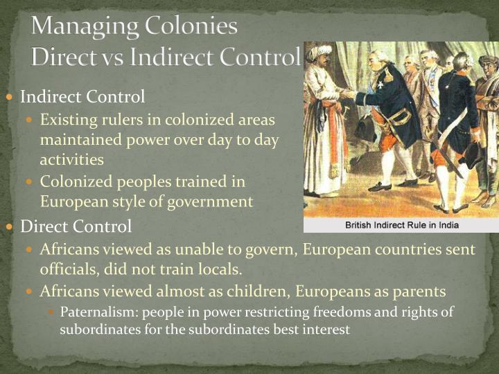 Managing Colonies