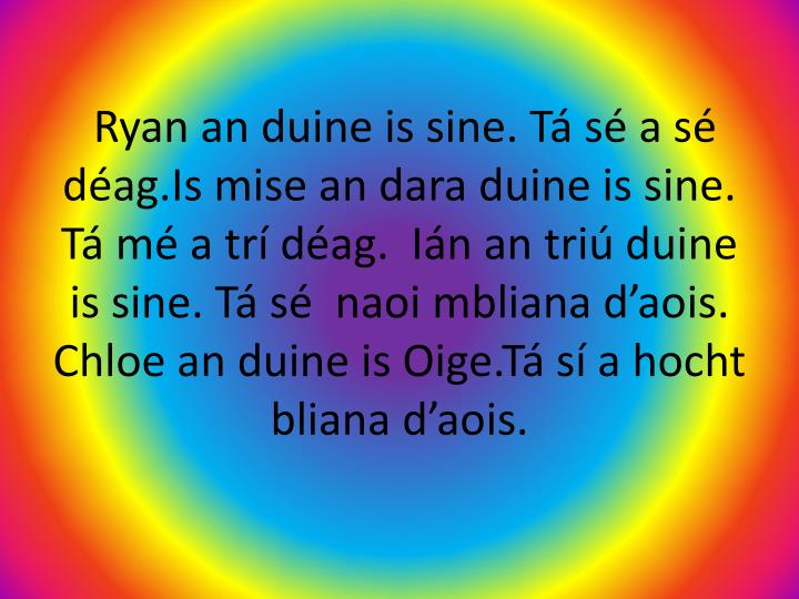 Ryan an