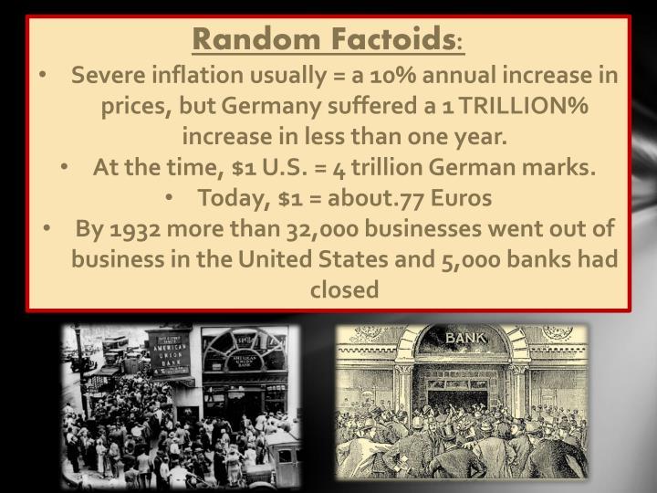 Random Factoids: