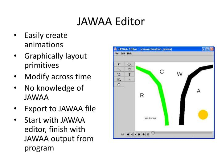 JAWAA Editor