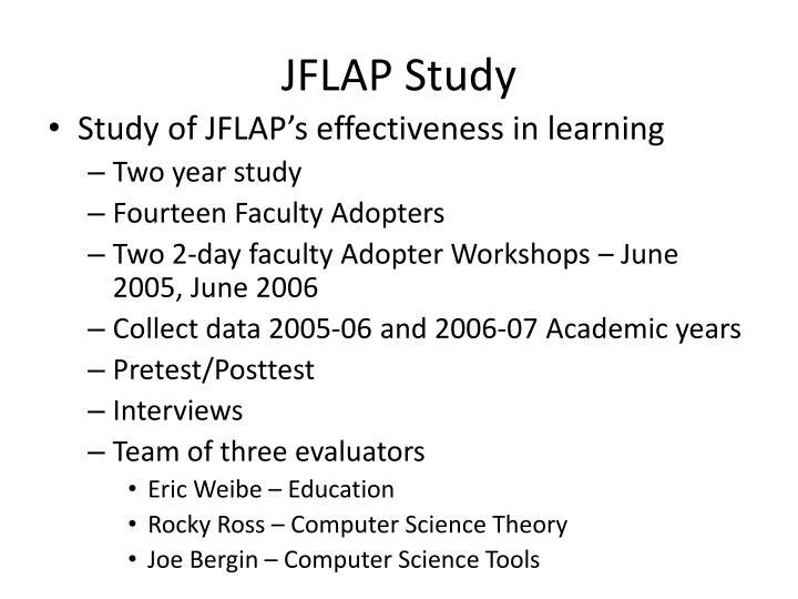 JFLAP Study