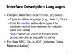 interface description languages