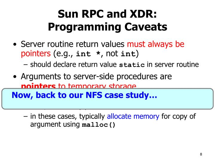 Now, back to our NFS case study…