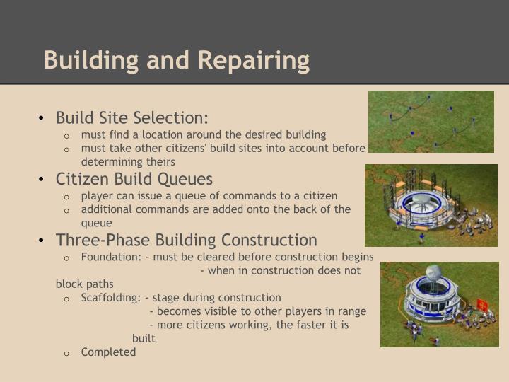 Building and Repairing