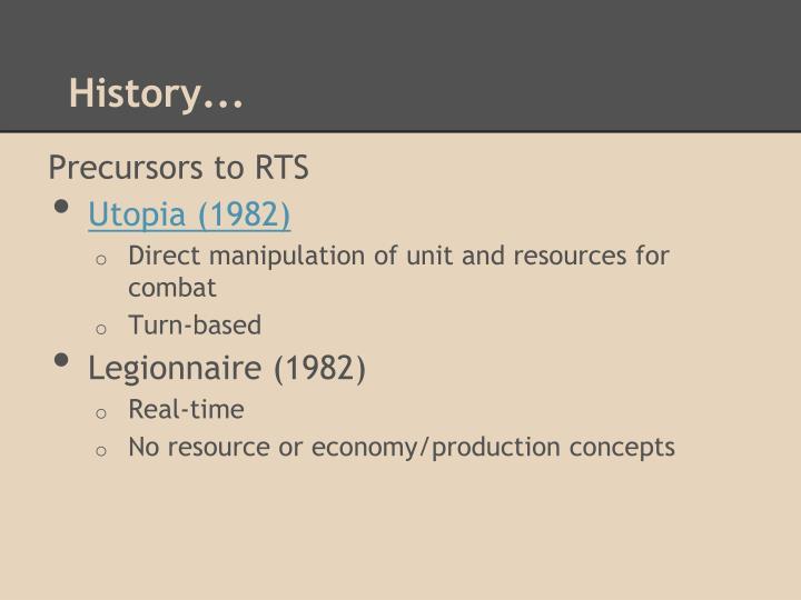 History...