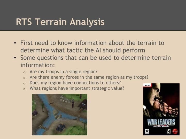 RTS Terrain Analysis