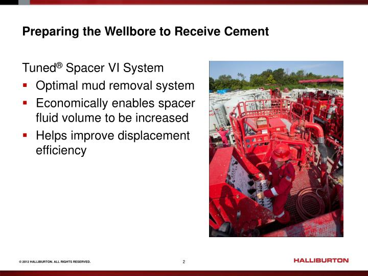 Preparing the Wellbore to Receive Cement