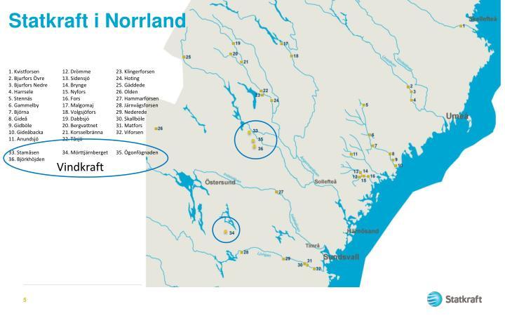 Statkraft i Norrland