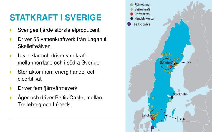 STATKRAFT I SVERIGE