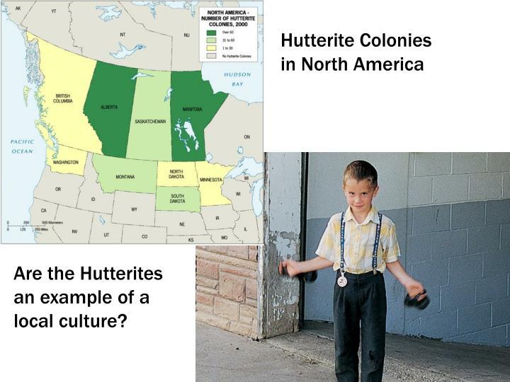 Hutterite Colonies