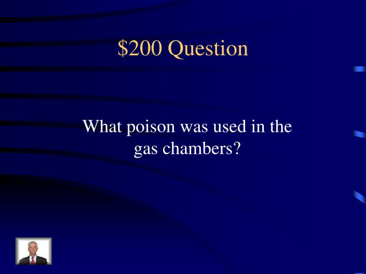 $200 Question
