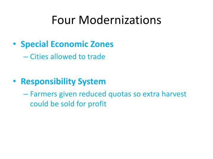 Four Modernizations