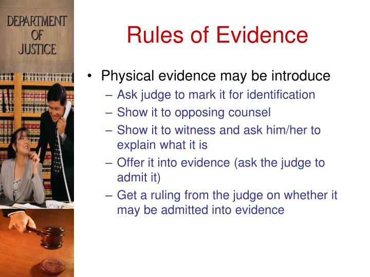 department of justice rules
