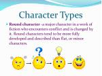 character types1