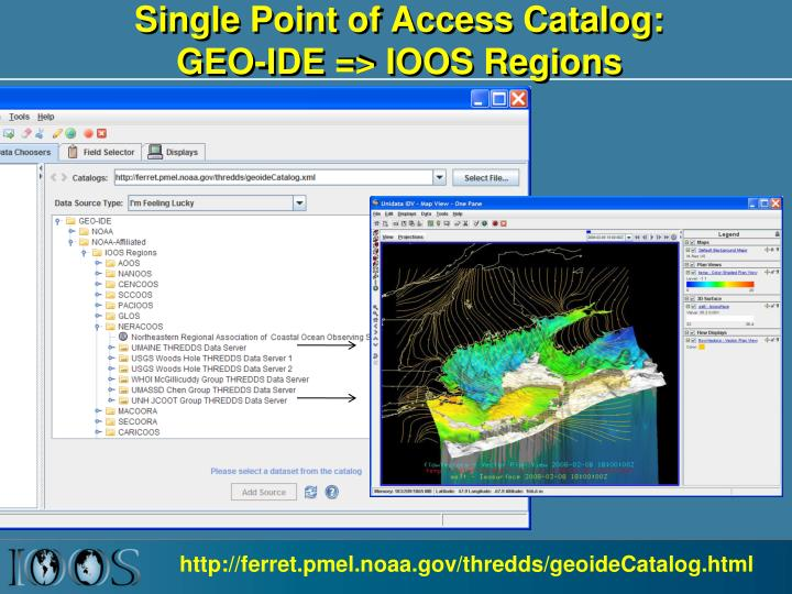 Single Point of Access Catalog: