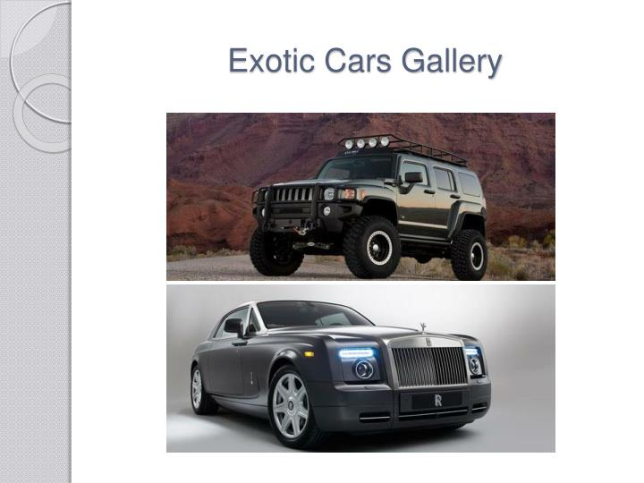 Exotic Cars Gallery