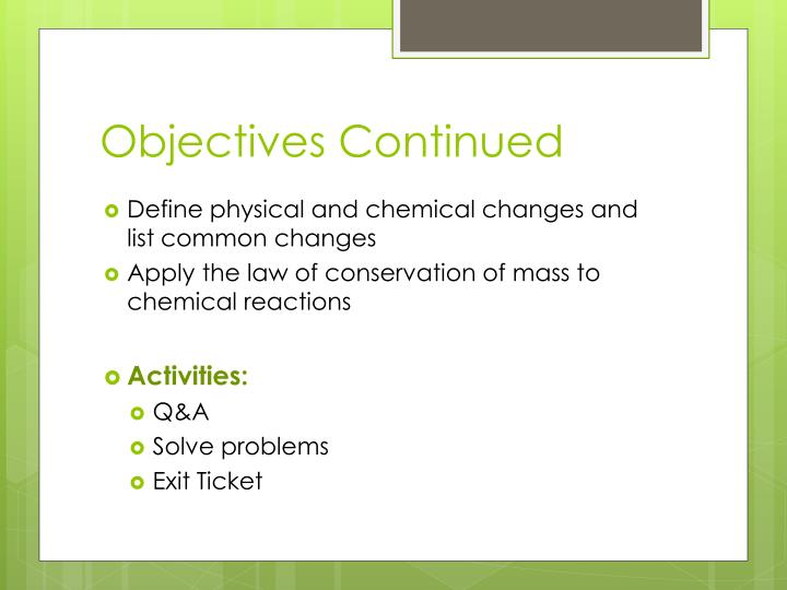 Problem solving continued additional problems chemistry