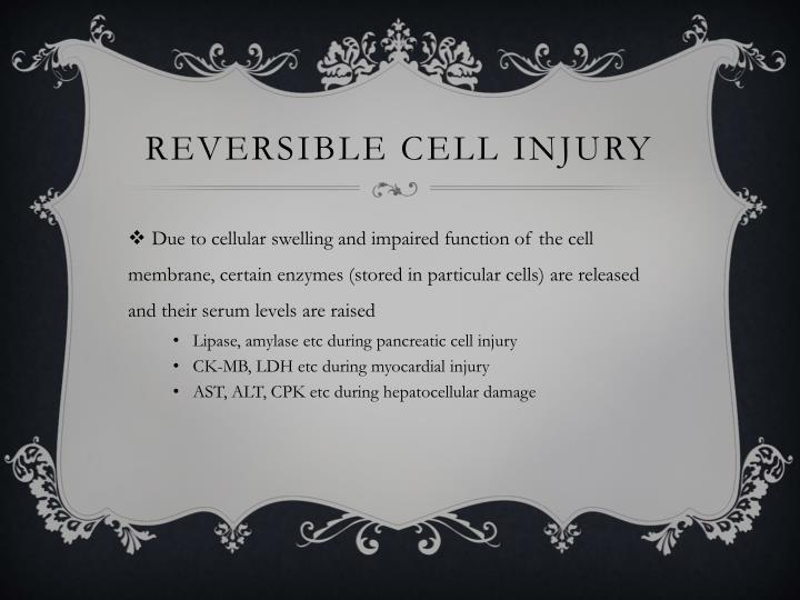 Reversible Cell Injury