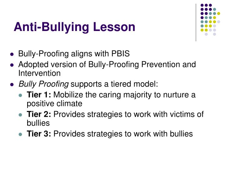 Anti-Bullying Lesson