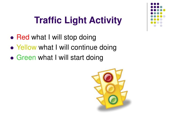 Traffic Light Activity