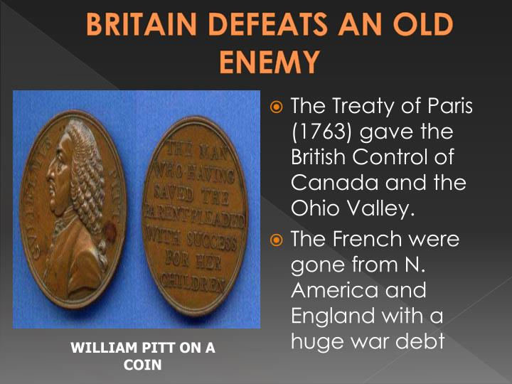 BRITAIN DEFEATS AN OLD ENEMY