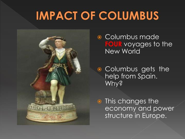 IMPACT OF COLUMBUS