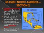 spanish north america section 2